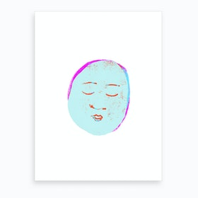 Sleeping Buddha Art Print