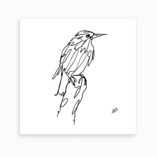 Walking Murmuration Art Print
