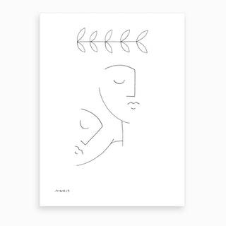 Rest On Shoulder Art Print