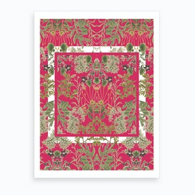 Botanic Frames Art Print