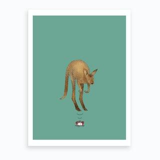 Smash The Alarm Art Print