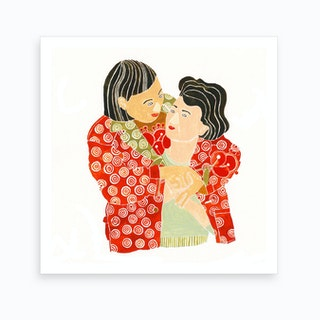 Sweet Embrace Art Print