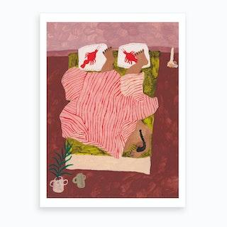 Bedroom Situation Art Print
