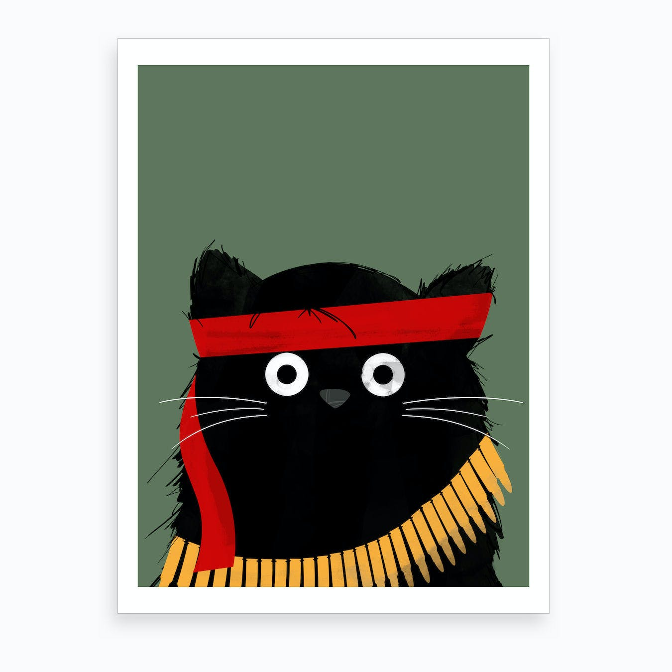 Cat Rambo Art Print