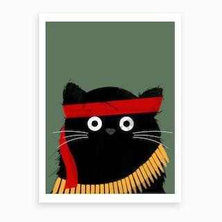Cat Rambo Art Print