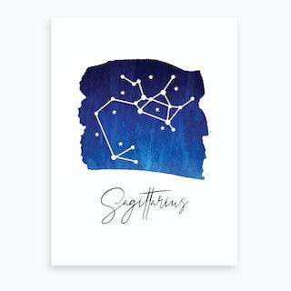 Sagittarius Zodiac Art Print