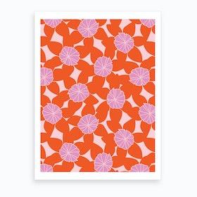 Purple First Day Of Summer Art Print