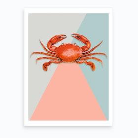 Crab Tastic Art Print