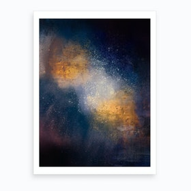 Oil Bright I Art Print