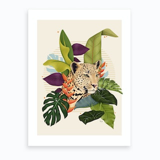 The Jaguar Art Print