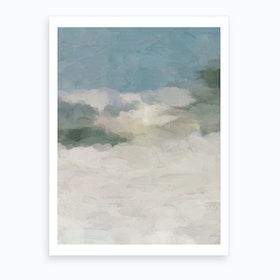 Sandy Dunes Art Print