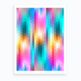 Vivid Pattern V Art Print