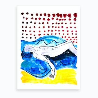 Summer Rests Art Print