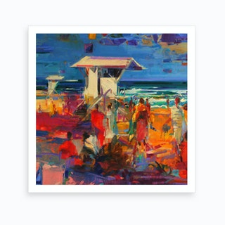 Palm Beach Florida Art Print