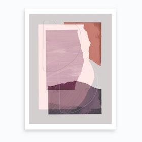 Pieces 4 Art Print