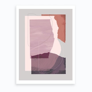 Pieces 4 Art Print