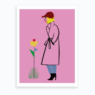 Sporty Couture Art Print