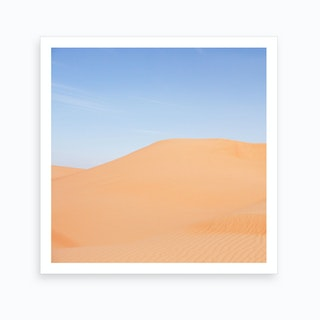 Middle East Desert Landscape Art Print