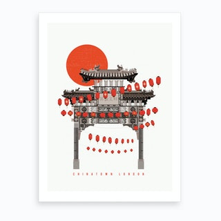 Chinatown Soho Art Print