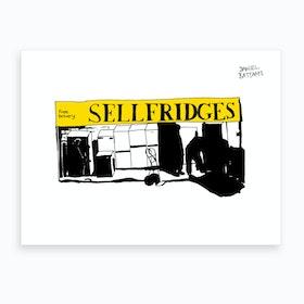 Sellfridges Art Print