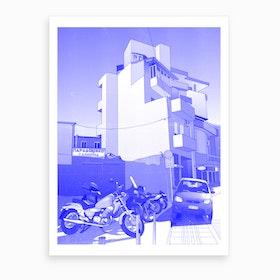 Heraklion Apartment Art Print