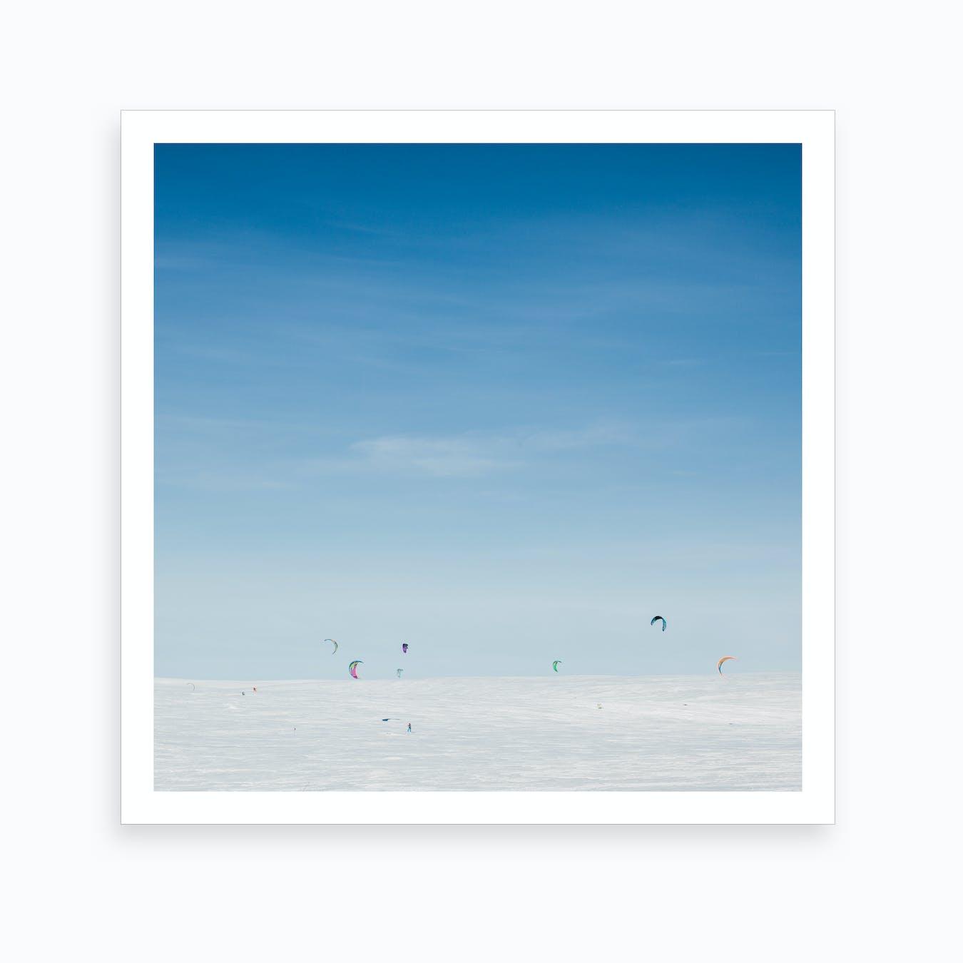 Snow Kite Art Print