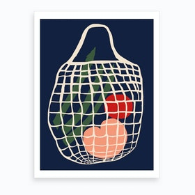 String Bag Art Print