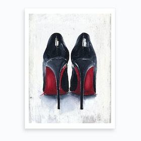 Louboutin Art Print