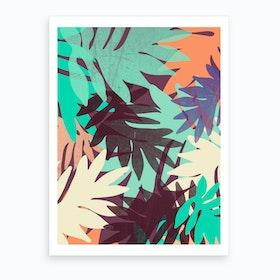Tropics II Art Print