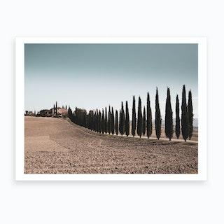 Tuscan Farmhouse Art Print