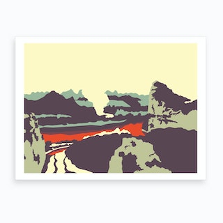 Chinese Scenery Art Print