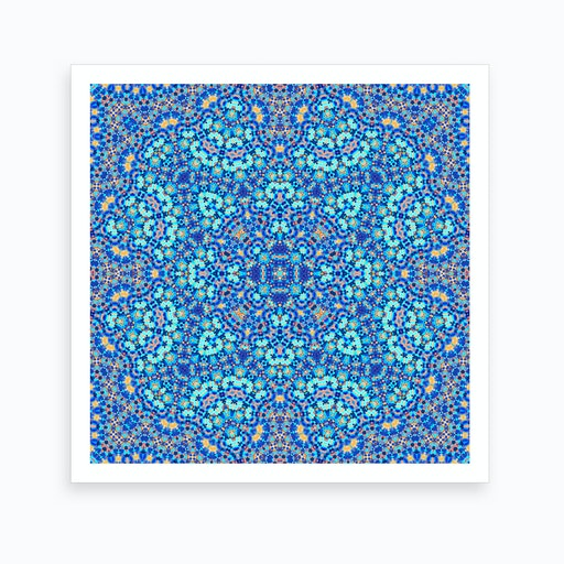 Abstract Mandala III Art Print