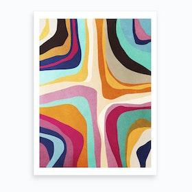 Psychedelic Pattern 1 Art Print