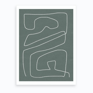 Line Abstract 1 Art Print