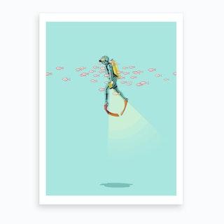 Float   Under The Sea Art Print