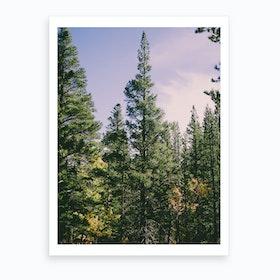 Enchanted Forest Portrait Art Print