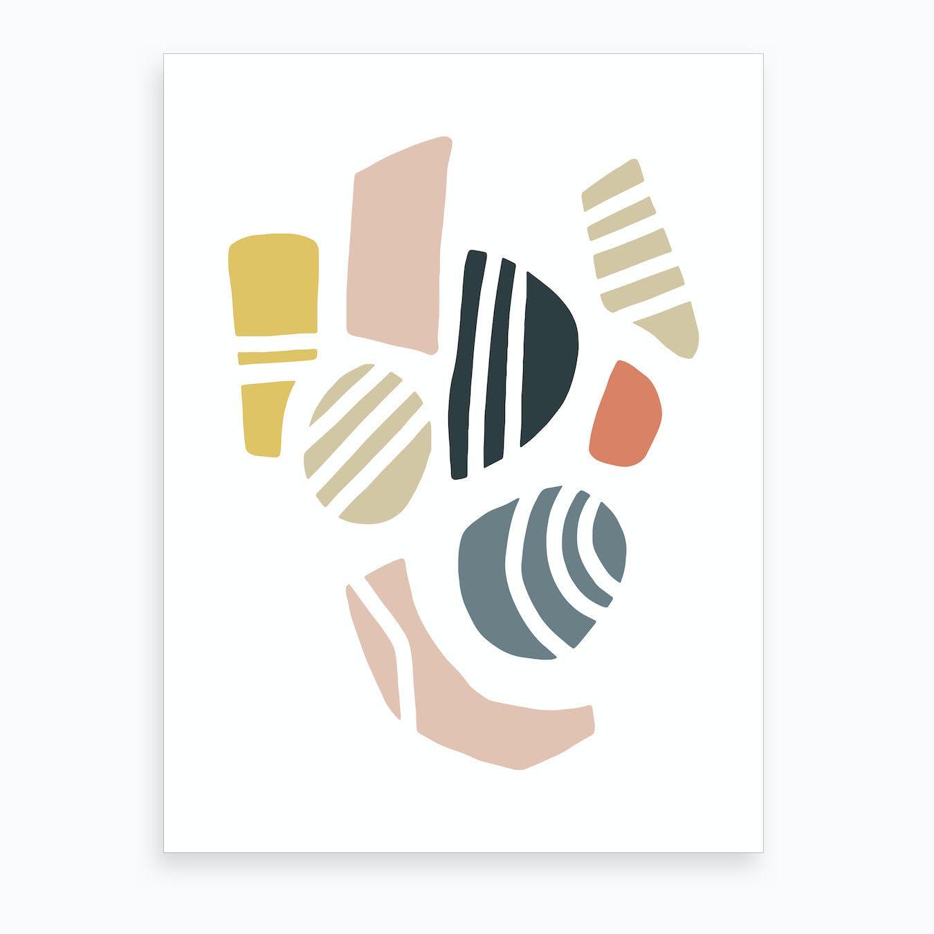 Pebble III Art Print