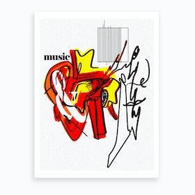Music & I Art Print