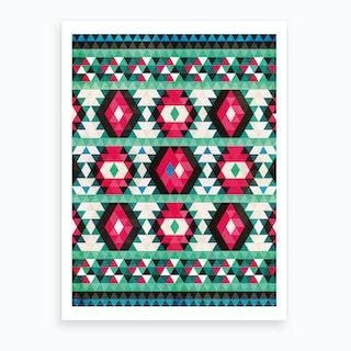 Bohemian Kilim Art Print