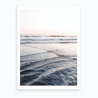 Crossing Waves Art Print