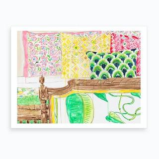 The Pillow Room New Art Print