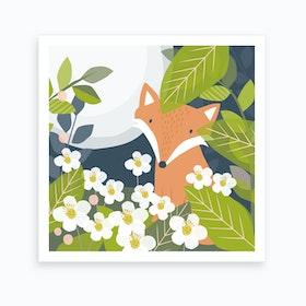 Fox Den Art Print