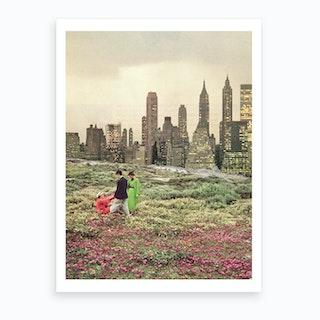 No City Should Be Too Large Art Print