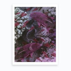 Deep Hue Sea 2 Art Print