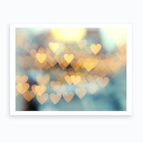 Holding Onto Love 2 Art Print