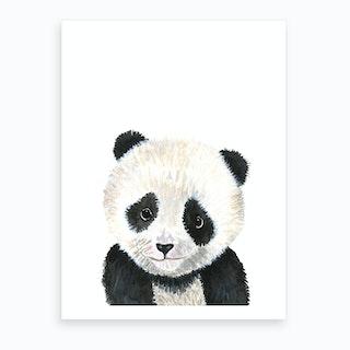 Baby Panda Art Print