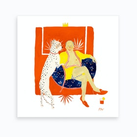 Picasso And Friend Art Print