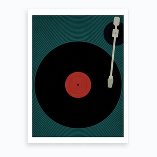 Let The Music Play Art Print