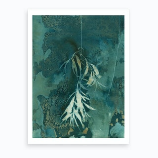 Dangling Leaves Art Print
