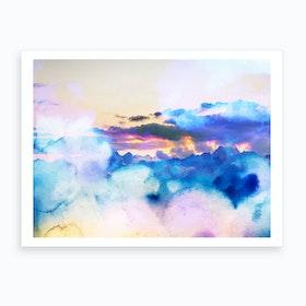 Dreamy Nature Art Print